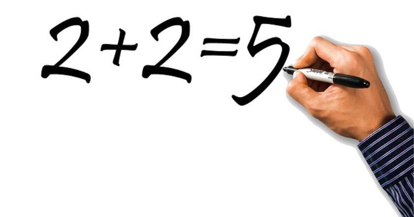mistake-1984-2+2=5