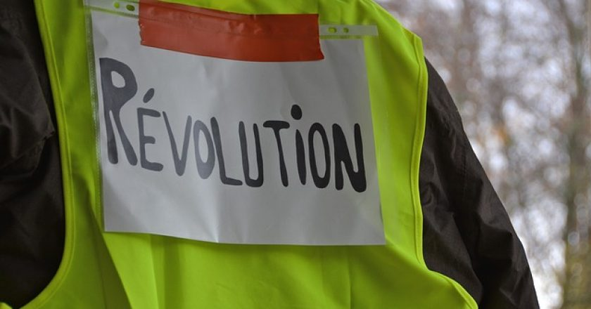 Yellow Vests Revolution Event Protest from maxpixel.net/ (Kitrina Gileka)
