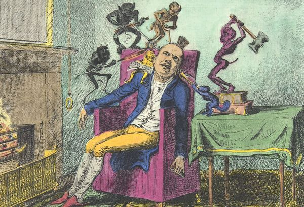 the-head-ache-artist-george-cruikshank-ponokefalos-peiarsmos-diavoli
