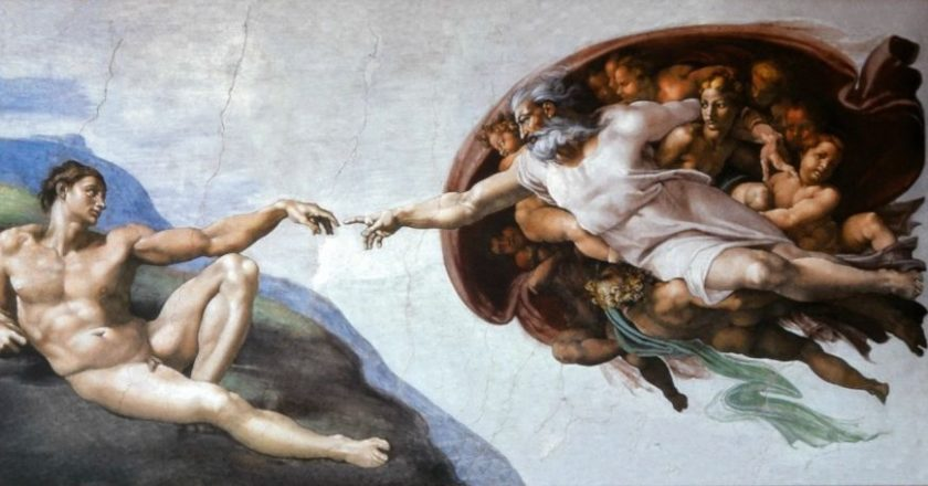 the-creation-of-adam-michelangelo-dimiourgia-theos-anthrwpos-texni-art
