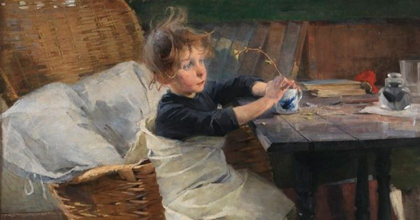 Toipilas – η ανάρρωση Helene Schjerfbeck (1862 – 1946)