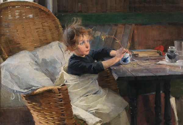 Toipilas – η ανάρρωση Helene Schjerfbeck (1862 – 1946)