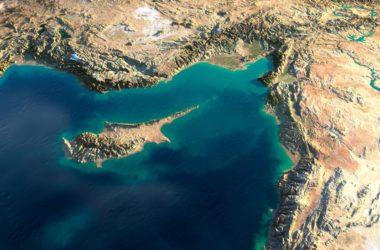 Κύπρος -φωτογραφία από δορυφόρο